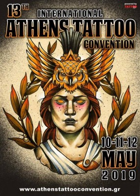 13th International Athens Tattoo Convention 2019