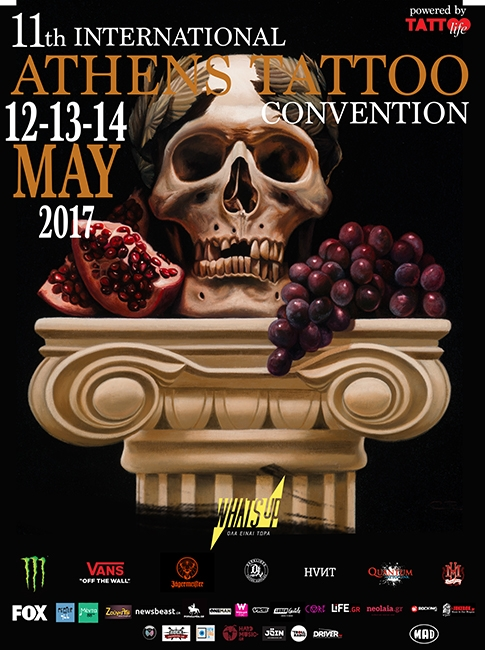 11th  International AthensTattoo Convention